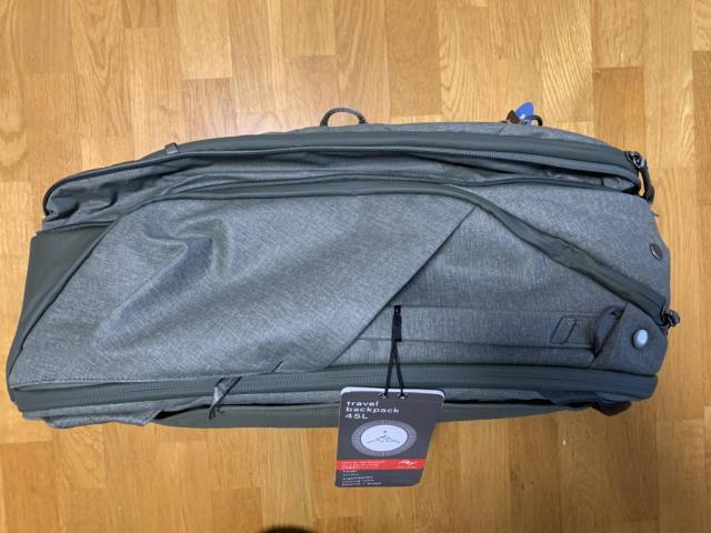 トラベルバックパック45L