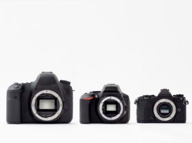 初めてのデジタル一眼レフカメラ イメージセンサー大きさの選択